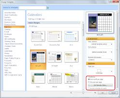 personalize a calendar for new year in publisher office update an existing publisher template for the new year