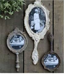 bathroom decor ideas unique decorating: a most lovely idea add photos to vintage mirrors for wall decor