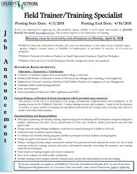 Fgcu Graduate Programs In Counseling Childrens Network Position