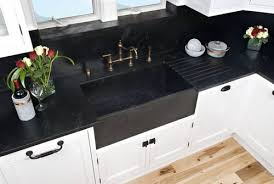 generally seen in white porcelain or cast iron farm style sinks are another timeless classic of mine integrate that with soapstone and you just can t go