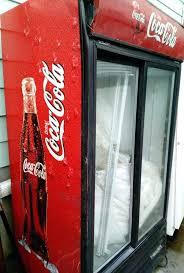 coca cola refrigerator commercial drink fridge e cooler machine glass door