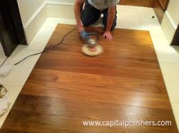 Staining Floor Scratches Photo