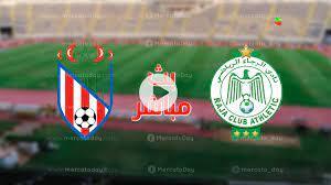 مشاهدة مباراة الرجاء والمغرب التطواني في بث مباشر البطولة المغربية إنوي