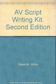 av script av script writing kit second edition glenn m wolfe amazon com books