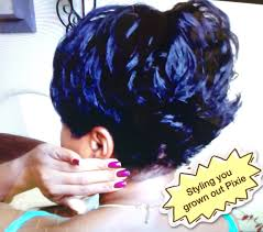 Growing Out Hair Style short hair tutorial styling your grown out pixie back flips 2914 by stevesalt.us