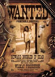 Djacidfx I Will Create A Printable Wanted Poster For 5 On Www Fiverr Com