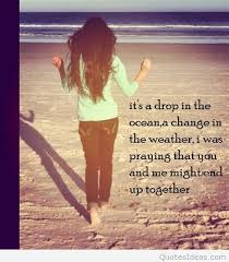 Ocean Love Quote With Image Delectable Quotes About The Ocean And Love