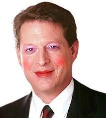 al gore wears make up by xenotron