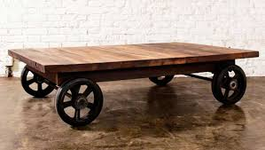 Stunning Coffee Tables With Wheels with Coffee Table Coffee Table On Wheels  Industrial Coffee Tables On