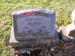 Florence Effie Sharp Harris (1892-1986) - Find A Grave Memorial