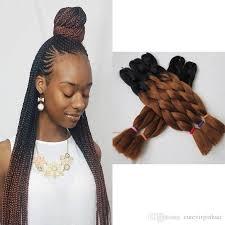 Ombre Braiding Hair Color Chart Xpression Braiding Hair Kanekalon High Temperature Ombre Braids Hair Two Tone Color Expression Braiding Hair Synthetic 1b 33 Ombre Brown Milky Way