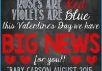 valentines day pregnancy announcement cards valentines day baby announcement beautiful ultrasound valentine s