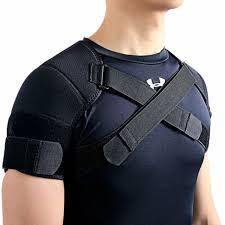 Kuangmi Double Shoulder Support Brace Strap Wrap Neoprene Protector Xx Large