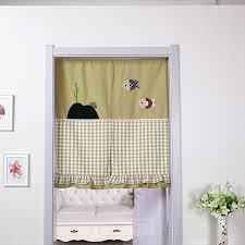 get quotations cartoon bedroom korean cotton cloth curtain curtain bathroom curtain half curtain curtain curtain kitchen curtain off