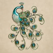 peacocks outdoor metal wall decor on outdoor metal animal wall art with reflect the home owner s creative personality with these 12 outdoor