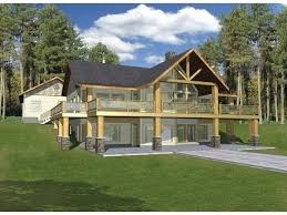 plans a frame house plan hillside haven with two levels of outdoor living square feet