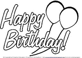Happy Birthday Coloring Pages Disney Collection Of Coloring Pages