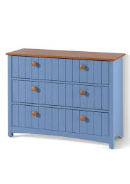 Robuste Geräumige Badezimmer Kommode In Skandinavischem Stil Blau