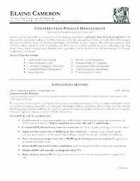 Compliance Resume Best Construction Manager Resume Sample Awesome Compliance Project