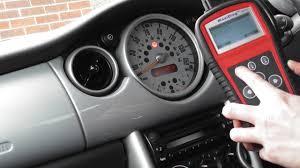 diagnose reset older cars srs airbag light