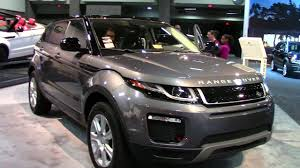 2018 land rover evoque review. exellent rover range rover evoque 2018 washington dc auto show 2017 throughout land rover evoque review