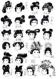 流云髻 Google 搜尋 ヘアースタイル チャイナ 髪型中国スケッチ