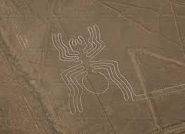 クモのようなナスカの地上絵