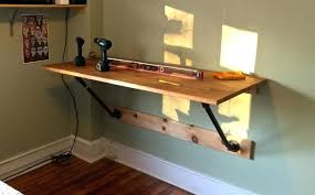 home office standing desk. Wall Mounted Standing Desk 6 DIY Desks Shelves And Petite Home Office
