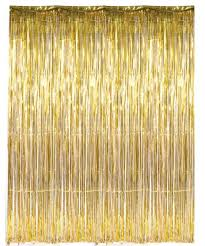 x gold tinsel foil fringe door window curtain party decoration these foil fringe curtains are an awesome finishing touch to any birthday or
