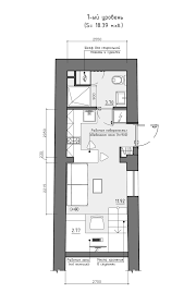 Residential House Reconstruction With Addition Of A Mansard Floor    Residential House Reconstruction With Addition Of A Mansard Floor Plan Jpg Tiny Loft Space Apartment