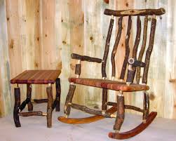 image of popular rustic rocking chairs