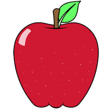 apple fruit drawing realistic. drawing of a cartoon apple. apple fruit realistic