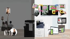 Pictures office Custom Bdi Furniture Office Copiers Managed Print Services Workflow Solutions