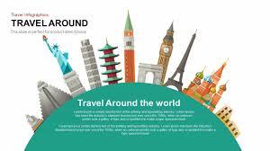 Powerpoint World Travel Around The World Powerpoint Presentation Template