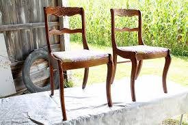 dining chair makeover how to strip paint and recover chairs for painted ideas 5