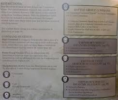 Emperors fist tank company rules