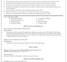 Resume For Teaching Jobs. Resume For Teaching Job In School Fast ...