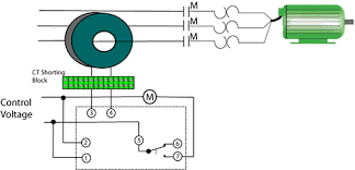 using current monitoring for predictive maintenance edrive online current switch relay output this diagram shows a current monitoring control system using a current transformer connected