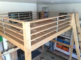 double loft bed in intended for frame with desk underneath bunk australia beds perth wa int