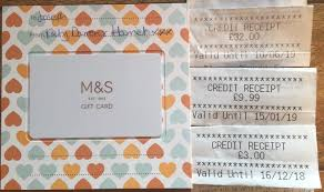 marks and spencer credit voucher note gift voucher 69 99 m s 1 of 1 see more
