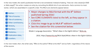 Mla 8th Edition Template Dltemplates