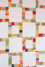 112 best quilt BIG PIECES images on Pinterest   Canvas, Sew and ... & Great quilt idea for using up fabric scraps, with big pieces of solids or  very Adamdwight.com
