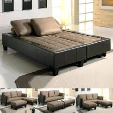 convertible furniture. Convertible Furniture Living Room Faux Leather Sofa Bed Couch Sectional . U