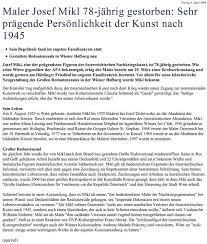Die schweizer task force chor hat einen flyer zusammengestellt für den neustart des chorsingens mit den neuerungen ab dem 23.08.2021. Josef Mikl Alben Gedenkseiten Kondolenzen Nachrufe Pietatvoll Privat Personlich