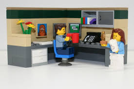 Office lego Interior Bricks Kidz Lego Office Workers