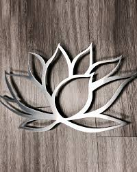 medium lotus flower metal wall art on metal lotus flower wall art with medium lotus flower metal wall art inspire metals