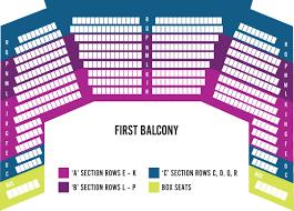 Seating Map Hamilton Philharmonic Orchestra