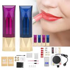product details of diy lipstick mold set homemade lip balm crafts tool kit color powder beeswax lipstick contain
