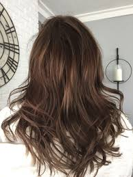 Medium Length Brown Hair With Light Brown Highlights Brown Medium Length Hair With Lowlights Brunette With