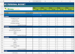 Monthly Budgets Spreadsheets Free Monthly Budget Spreadsheet Money Goody